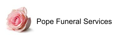 Pope Funeral Service Logo